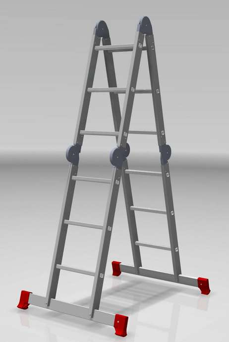 Лестница-трансформер 4х3 бытовая