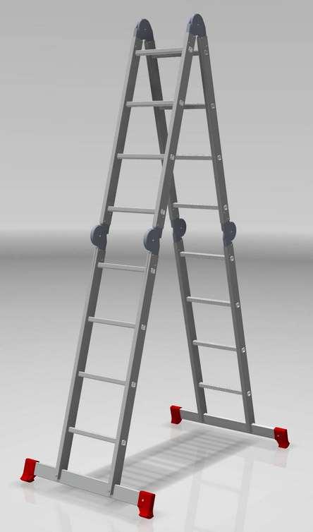 Лестница-трансформер 4х4 бытовая
