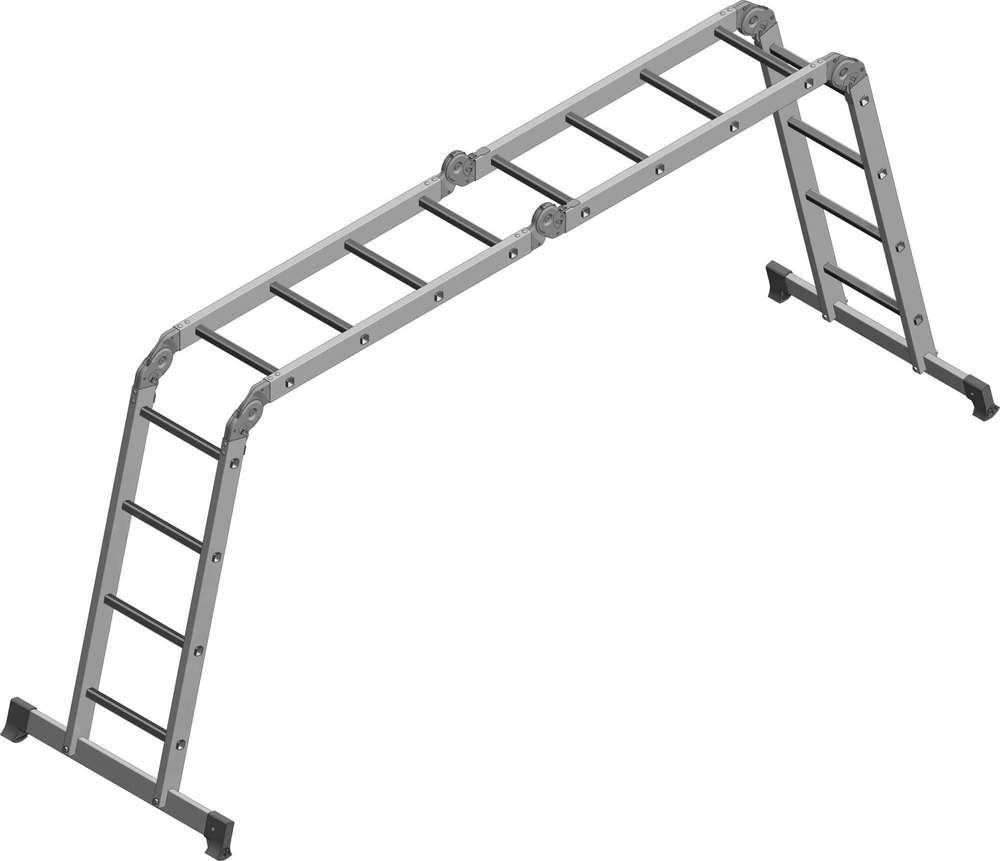Лестница-трансформер 4х4 бытовая как помост