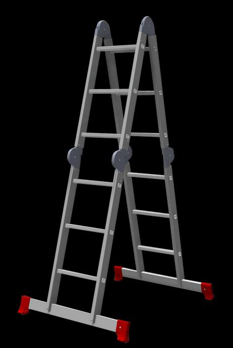 Лестница трансформер 4х3 полупрофессиональная