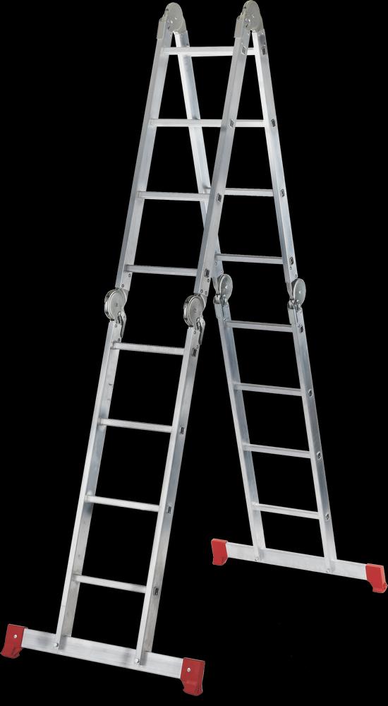Лестница-трансформер 4х4 полупрофессиональная