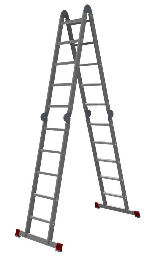Лестница-трансформер 4х5 полупрофессиональная
