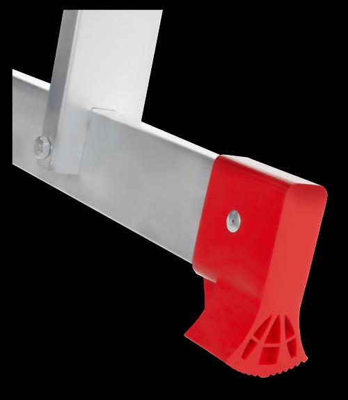 Лестница трансформер 4х3 полупрофессиональная - опорная стойка на траверсе